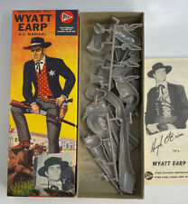 1958 PYRO WYATT EARP PLASTIC MODEL KIT MIB UNSTARTED