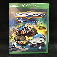 Micro Machines World Series (Microsoft Xbox One, 2017) BRAND NEW