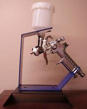 HVLP Mini Detail Smart Repair Spray Gun & Bench Holder