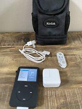 Apple iPod Classic A1238 7th Generation 120GB Black Gray Bear Mint TESTED NR