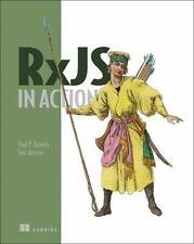 RXJS IN ACTION - DANIELS, PAUL P./ ATENCIO, LUIS - NEW PAPERBACK BOOK