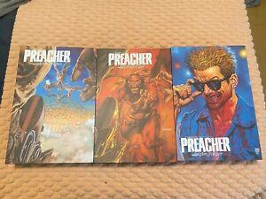 Absolute Preacher 1 2 3 volumes graphic novel Vertigo DC comic book omnibus