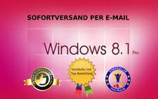 Windows 8.1 Professional Aktivierungsschlüssel Win 8.1 Pro Key  32 / 64 bit ESD