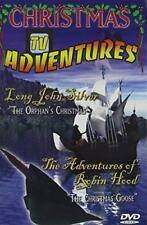 Christmas TV Adventures Long John Silver & Adventures of Robin Hood (DVD)