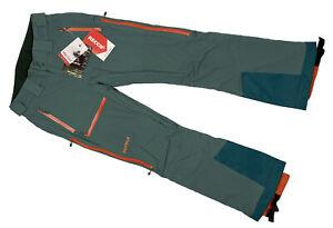 NEW $500 Marmot Castle Peak Ski Pants!  Sm  Green  Polartec Neoshell  Recco