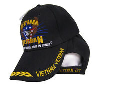 Vietnam Veteran Vet Time Was Served Time To Honor Embroidered Baseball Cap Hat