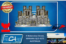 New GENUINE WEBER 44 IDF Quad Carburettor Carby Set suit Chevrolet 350 Chev V8