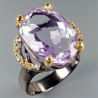 Jewelry for Sale Natural Ametrine 925 Sterling Silver Ring Size 8.5/R114275