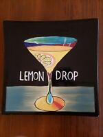 """2003 Mary Naylor """"Lemon Drop"""" Hand Painted Decorative Wall Plate"""