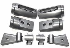 """Polaris RZR Bungs  900S 1000S Cage  Adapters Set 1 3/4"""" 1.75 2015-18 .120 wall"""
