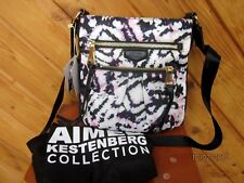 6d9ca65f0 AIMEE KESTENBERG CROSS BODY NYLON AND LEATHER TRIM NEW WITH TAGS AND DUST  BAG