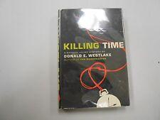 SIGNED Killing Time by Donald E. Westlake (1961, Hardback)! RARE 1ST/1ST!