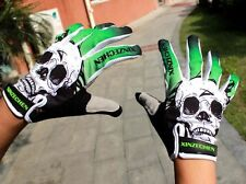 Touchscreen Gloves Green Cycling Bicycle 3GEL Pad Shockproof Full Finger Glove L