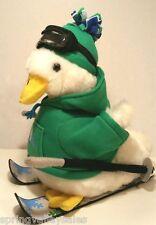 LG Talking AFLAC Insurance Mascot Duck Plush Macy 2013 Sking Skier Hoodie Goggle
