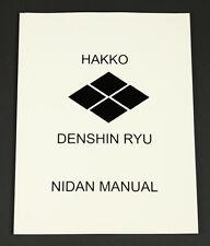Hakko Denshin Ryu Ju-Jutsu Nidan Manual