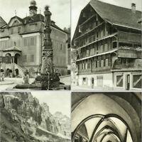 Switzerland 1930s Photo Book w/288 pictures Architecture Landscape Zurich Genf