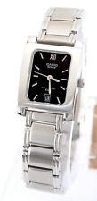Casio BEL-100D-1 Genuine Beside Ladies Watch Stainless Steel Dress 50M Black New