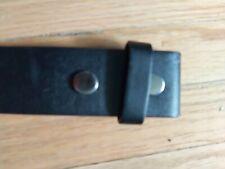Modified Mens Belt. Black Medium. 24-36 waists