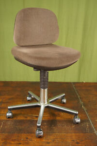 60er Vintage Office Chair Swivel Chair Desk Chair Architects