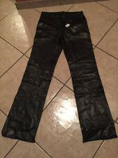Estate Find Genuine GUCCI Leather Pants W/Tags Ladies Euro 50. Retails $1740.