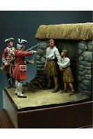 English Soldiers After Battle of Culloden Tin Painted Toy Soldier Pre-Order |Art