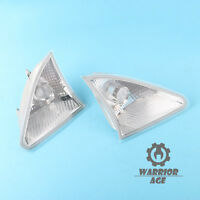 Qty2 Front L+R Position Light Parking Lamp NO/Bulb For Mercedes W251 R350 06-10