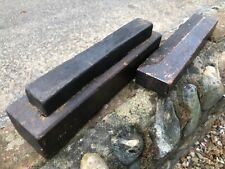 More details for vintage oil sharpening honing wet whet stone in wooden box case for chisels etc
