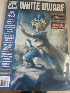 White Dwarf Magazine #463 - NEW WARHAMMER 40,000,(BRAND NEW)