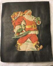 Vintage Large Handmade Santa Scrapbook - Advertising, Coke, Magazine Covers