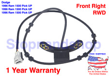 NEW ABS WHEEL SPEED SENSOR for 96-1999 DODGE RAM 1500 2500 3500 FRONT RIGHT RWD