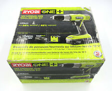 RYOBI 18-Volt ONE+ Lithium-Ion Cordless 1/2 in. Drill/Driver Kit with (2) 1.5