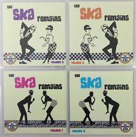 The Ska Remains 4CD Jumbo Pack 2 - Classic/Rare Ska - 114 Big Tunes