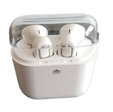 Bluetooth Wireless Air Headphones  Music & Talk Charger & Case - Android, iPhone
