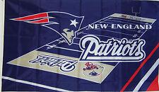 NEW 3x5 ft NEW ENGLAND PATRIOTS FIELD DESIGN FLAG
