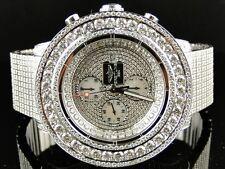 38 Kt da Uomo Nuovo Breitling Super Avenger Vs Orologio con Diamanti su Misura