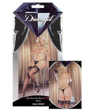 THIGH HIGH STOCKINGS WITH STAY UP SILICONE LACE TOPS Queen Size Multi Colors