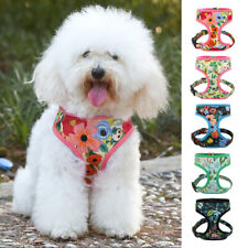 Small Pet Vest Harness Walk Collar Outdoor Dog Puppy Soft Mesh Breathable