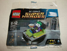 Lego Batman #30303 The Joker minifigure Bumper Car sealed polybag