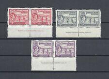 TURKS & CAICOS ISLANDS 1938 SG 197,198,201 MNH Cat £48