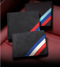 BMW Style Alcantara Made Premium Card Holder/Wallet