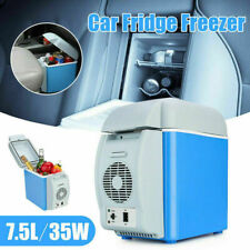 7.5L Portable Cool Box Electric Cooler Car Van Boat Ice Fridge Freezer Mini 12V