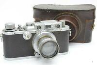 Leica IIIA Body Summar 5cm f/2 Lens SET!! Rangefinder Camera