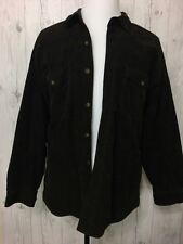 Levi's Strauss&Co Vintage Thick Corduroy Flannel Lined Button Shirt Jacket Sz L