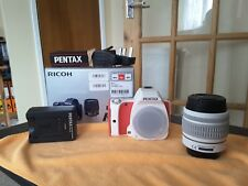 Pentax K K-S1 20.1MP Digital SLR Camera - White /Red