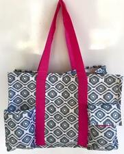 Multi Pocket Organizer Tote Bag Nurses Teachers Love Them! Canvas Handbag Beach