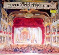 Giuseppe Verdi : Ouvertures Et Preludes - Von Karajan, Berlin Orch. 2 LP sealed