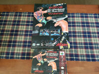 ECW Hardcore Revolution - Nintendo 64 - N64 - Authentic - Box Only! With Poster!