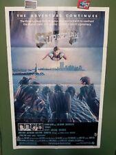 "1981 SUPERMAN 2 Original Poster 27x41"" Christopher Reeve, Gene Hackman ACTION"