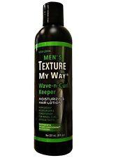 Men's Texture My Way Wave-n-Curl Keeper Moisturizing Hair Lotion 8 oz