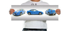 Fiat Coupe 2.0 20v Turbo 30x10 Inch Canvas - Framed Picture Classic Wall Art